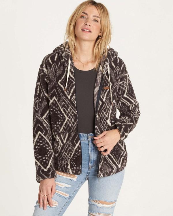 0 Over Head Fleece Jacket  J616LOVE Billabong