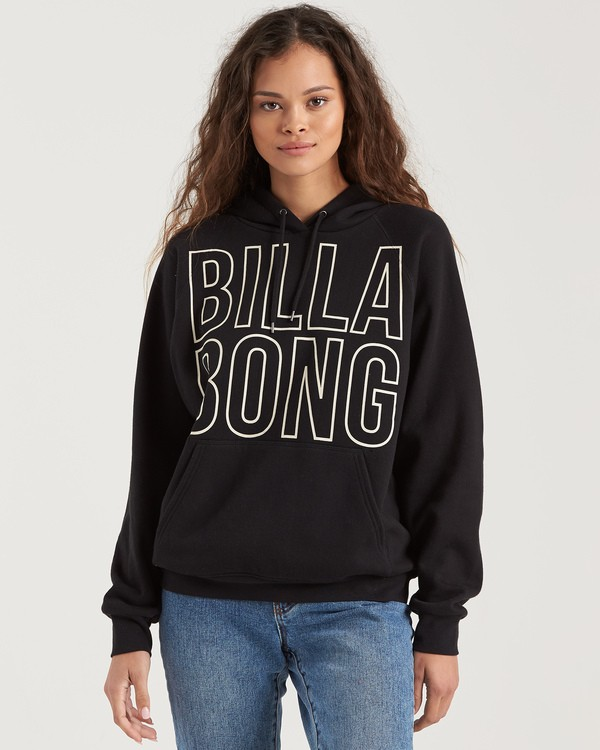 0 Legacy 2.0 Hoodie Fleece Black J6201BLE Billabong