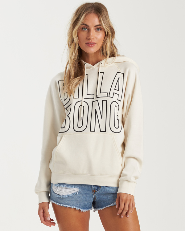 0 Legacy 2.0 Hoodie Fleece White J6201BLE Billabong