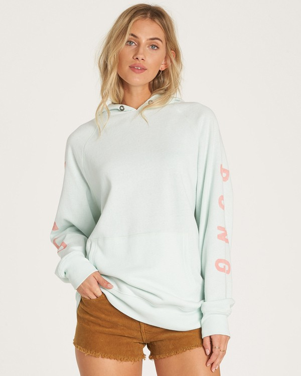 0 Out And Out Hoodie Blue J629WBOU Billabong