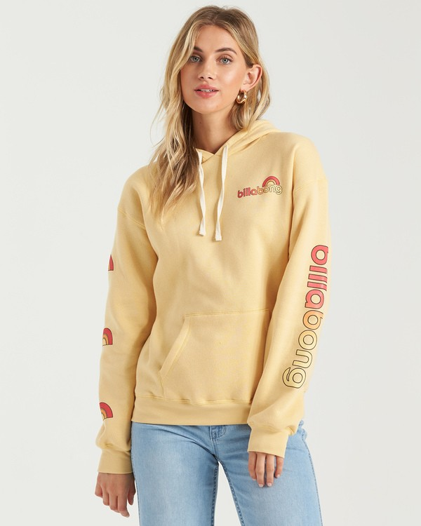 0 Make Me Mellow Hoodie Grey J6513BMA Billabong