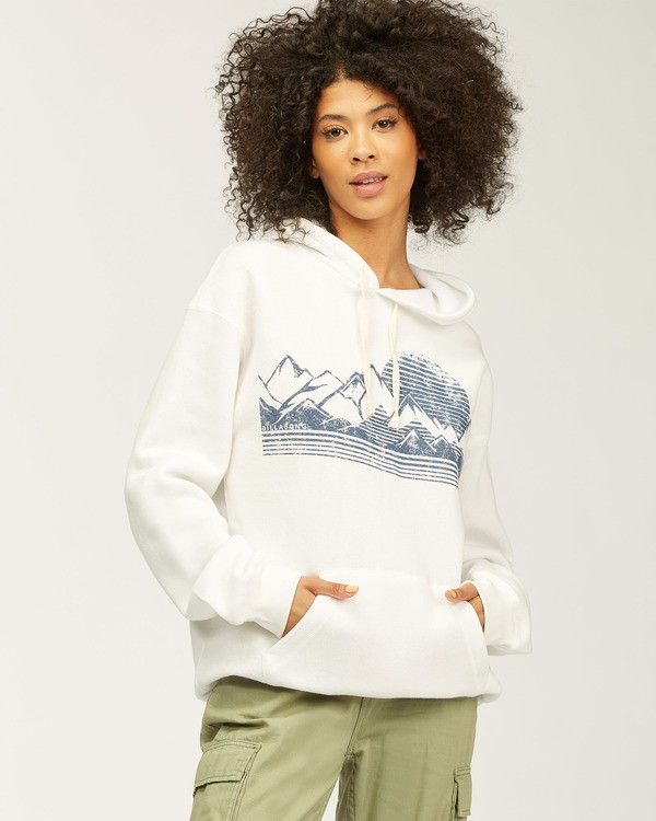 0 Shadow Views Hoodie White J6513SND Billabong