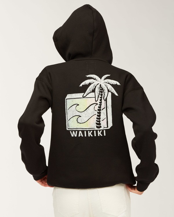 0 Waikiki Back to the Beach Hoodie Black J651QBTR Billabong