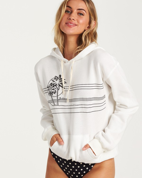 0 Best Of Times Hoodie White J651VBBS Billabong