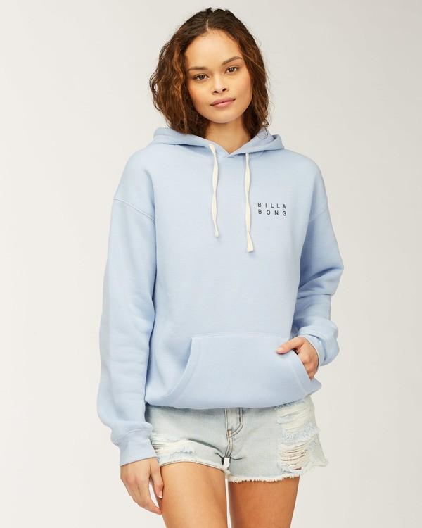 0 Flower Sweatshirt Blue J651WBFR Billabong