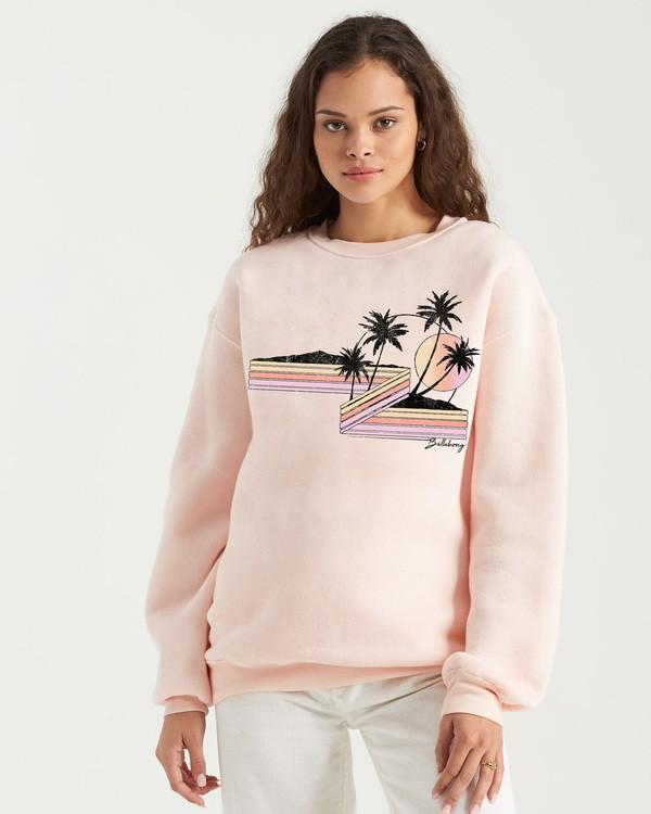 0 Follow The Sun Sweatshirt Black J6523BFO Billabong