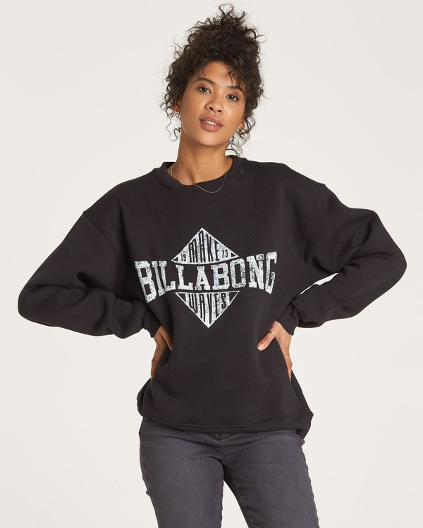 0 Headline Pullover Black J652WBHE Billabong