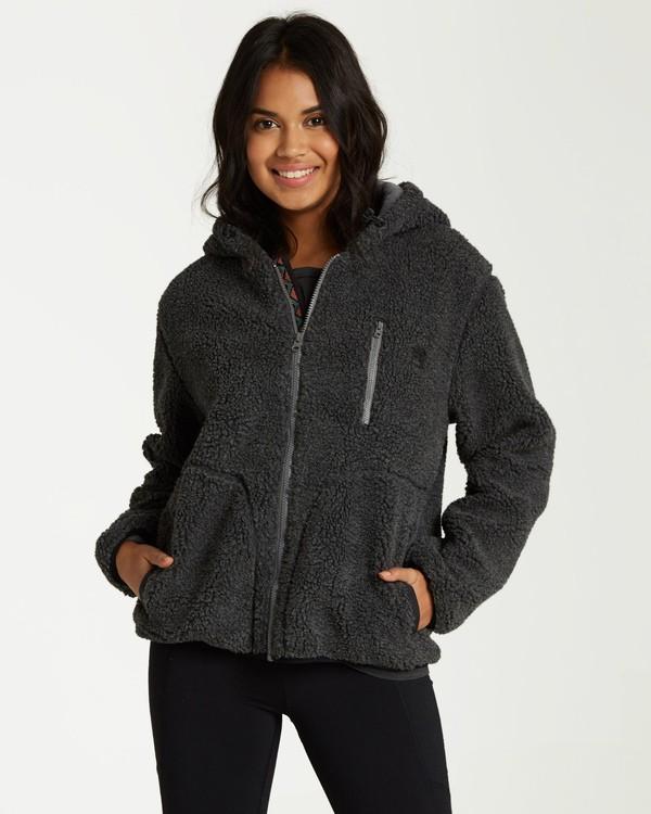 0 Switchback Sherpa Jacket Grey J708WBSW Billabong