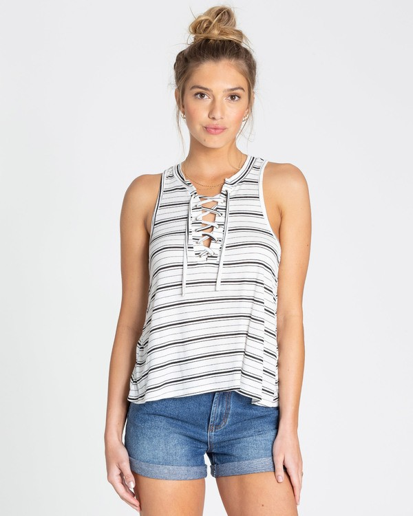0 Let Loose Tank Top White J902TBLE Billabong