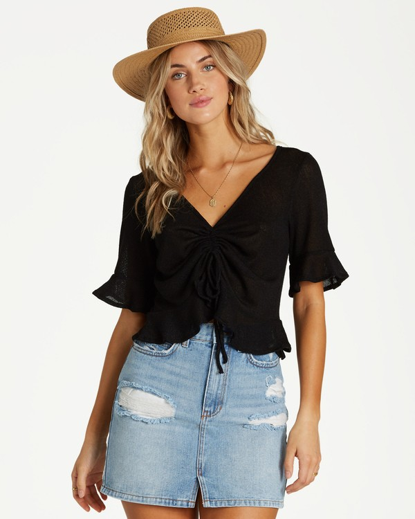 0 Sittin Pretty Top Black J906VBSI Billabong