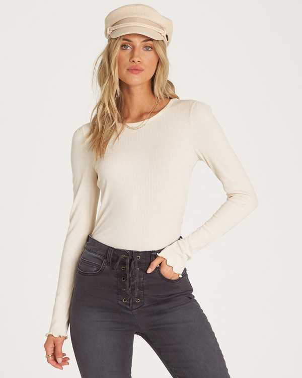 0 Falls Calling Top White J908WBFA Billabong