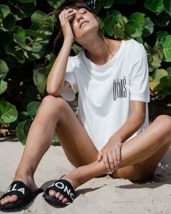 0 Take Back Lace-Up Vintage T-Shirt  J909PBTA Billabong