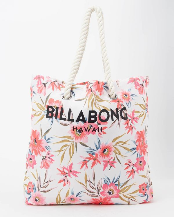 0 Hawaii Essential Tote Bag White JABG1BES Billabong