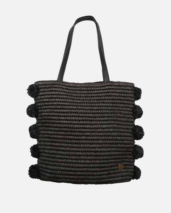 0 Palms Up Straw Bag Black JABGQBPA Billabong