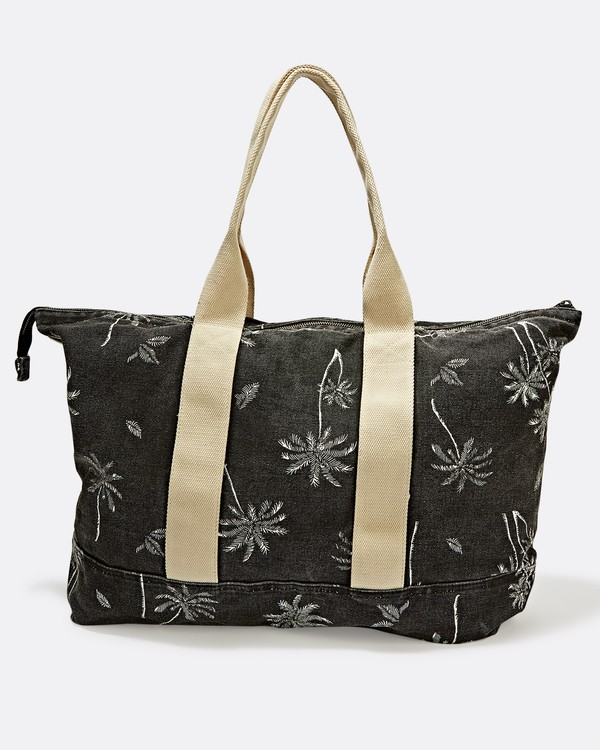 0 Never Over Tote Bag Black JABGSBNR Billabong