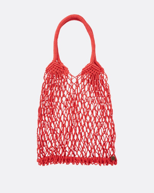 0 Water U Doin Mesh Net Bag Red JABGTBWA Billabong