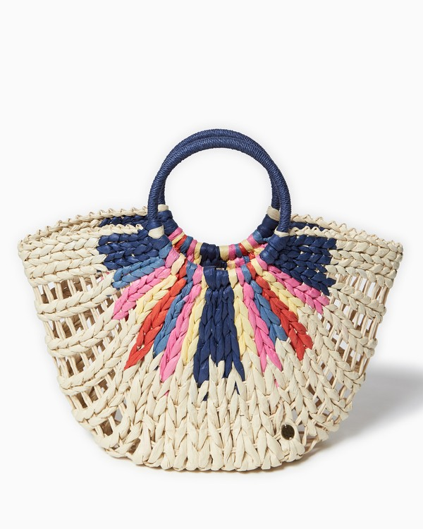 0 High Summer Straw Tote Beige JABGVBHI Billabong