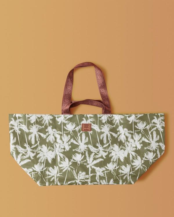 0 Kollab Pretty Palms Beach Bag Green JABGWBPB Billabong