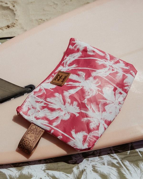 0 Kollab Pretty Palms Clutch Pink JABGWBPP Billabong