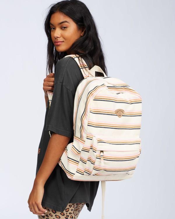 0 Schools Out Backpack White JABK3BSC Billabong