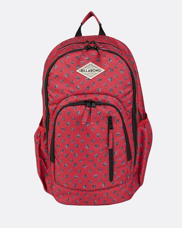 0 Roadie Backpack Red JABKLROA Billabong