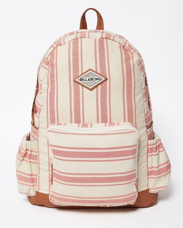 0 Home Abroad Backpack Red JABKQBHO Billabong