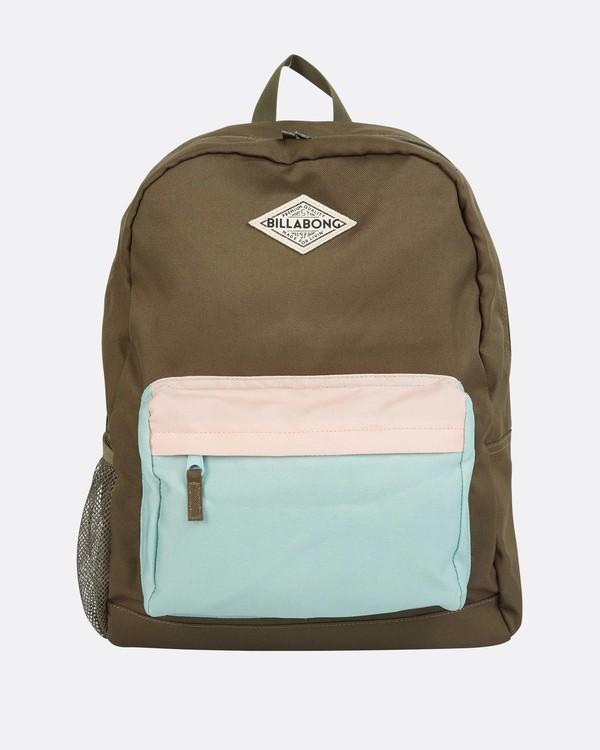 0 Schools Out Backpack Green JABKQBSC Billabong