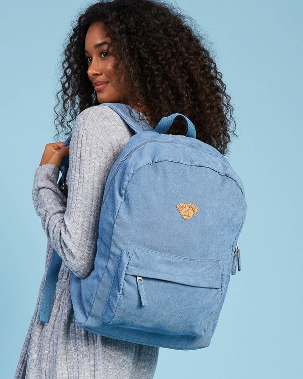 0 Schools Out Cord Backpack Blue JABKVBSC Billabong