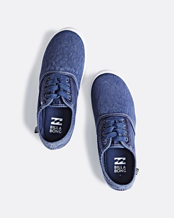 0 Addy Lace Up Shoe Blue JAFTLADD Billabong