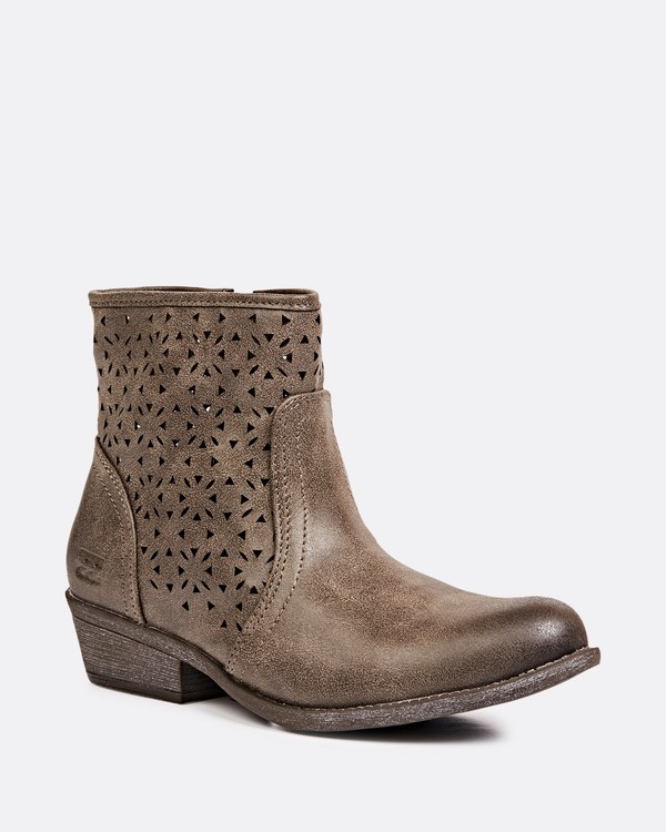 0 Bursting Sun Booties Brown JAFTLBUR Billabong