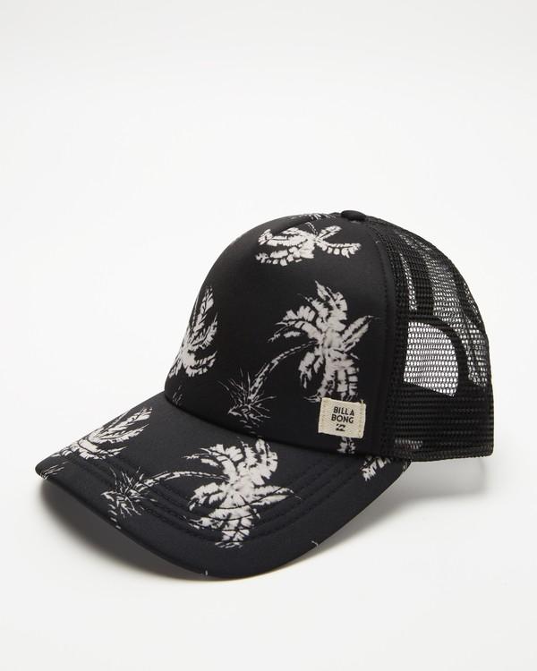 0 Heritage Mashup Trucker Hat Black JAHTBHER Billabong