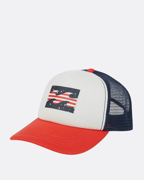 0 Billabong Trucker Hat Blue JAHTDBIL Billabong