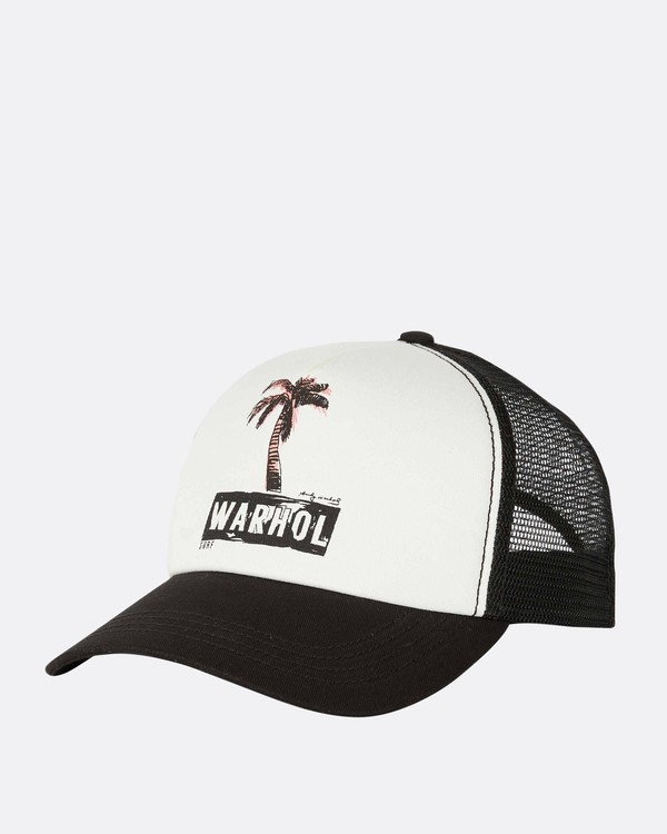 0 Warholsurf Holly Trucker Hat  JAHTLHOL Billabong