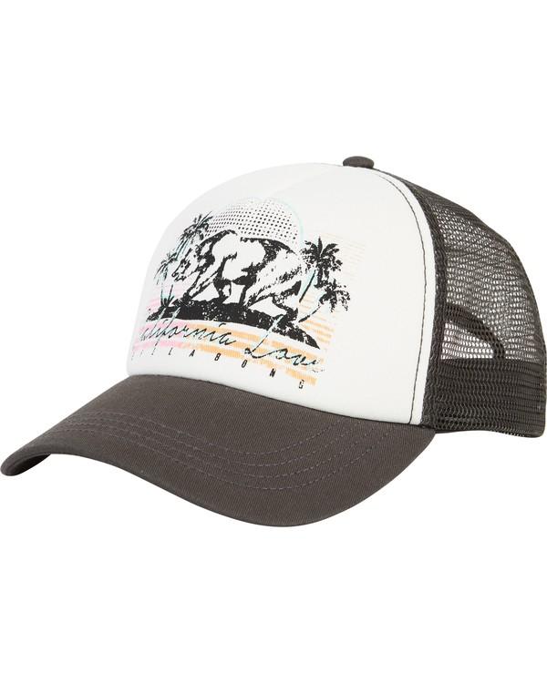 0 Retro Bear Trucker Hat Black JAHWNBRE Billabong