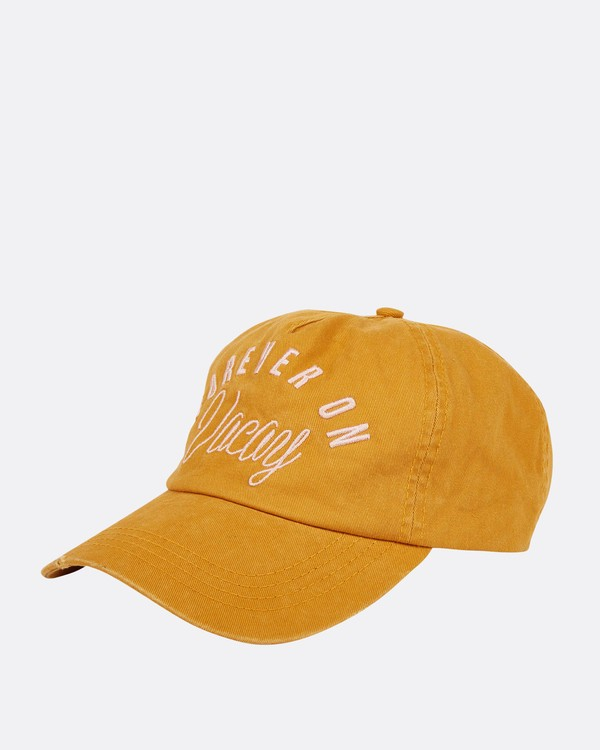 0 Surf Club Baseball Cap Yellow JAHWNBSU Billabong