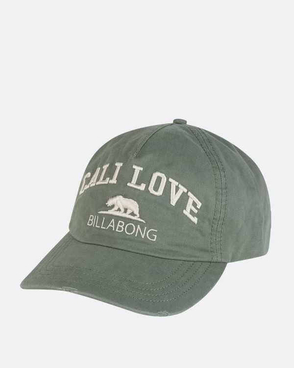 0 Surf Club Baseball Cap Green JAHWNBSU Billabong