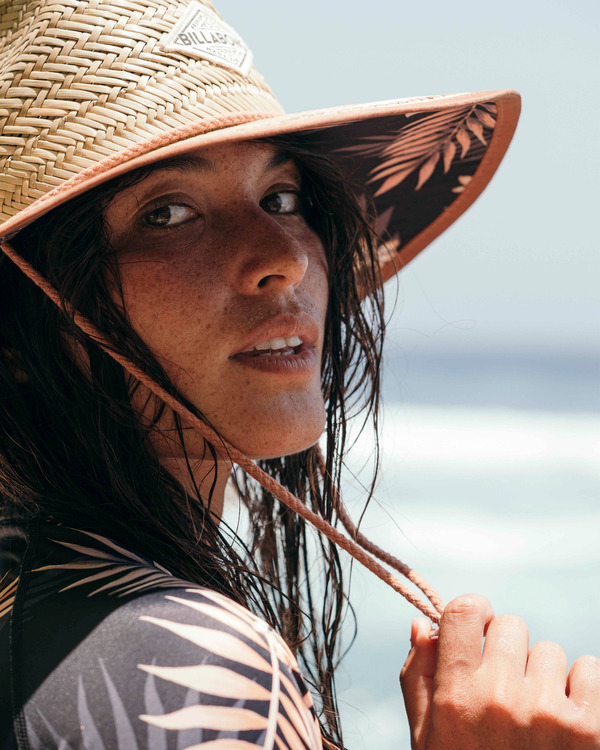 0 Tipton Straw Lifeguard Hat Black JAHWNBTI Billabong