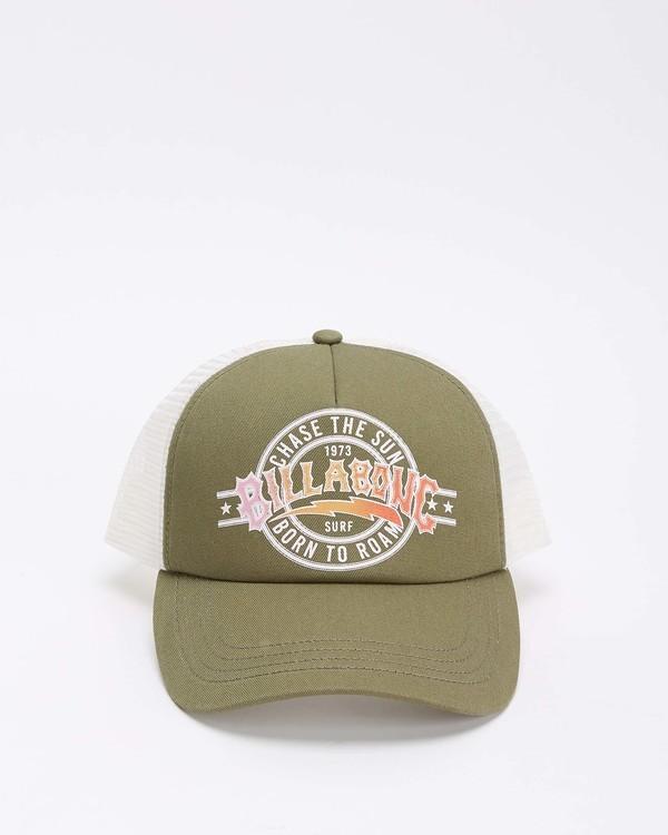 0 Aloha Forever Trucker Hat Green JAHWQBAL Billabong
