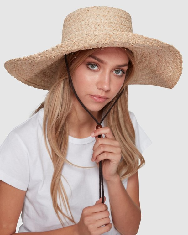 0 Paradise Straw Hat White JAHWWBPA Billabong