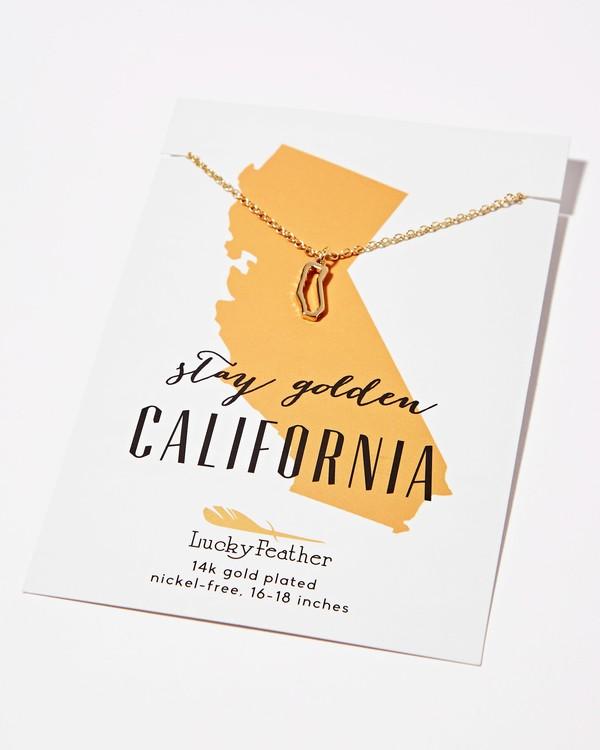 0 California Golden Necklace Grey JAJWXBCA Billabong