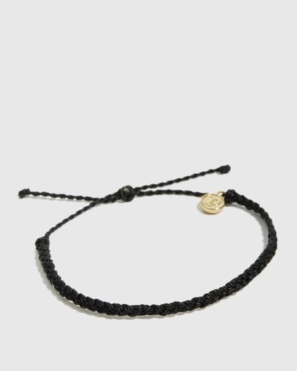 0 Mini Braided Ast Bracelet Black JAJWXBMB Billabong