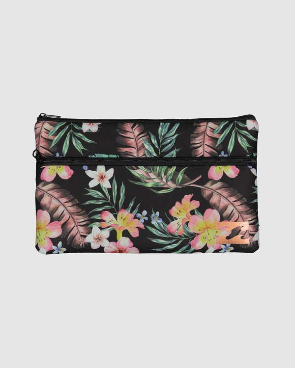 0 Eden Pencil Case Black JAMC3BEN Billabong