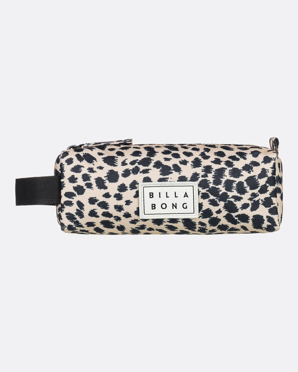 0 Sharpen Up Pencil Case Black JAMC3BSH Billabong