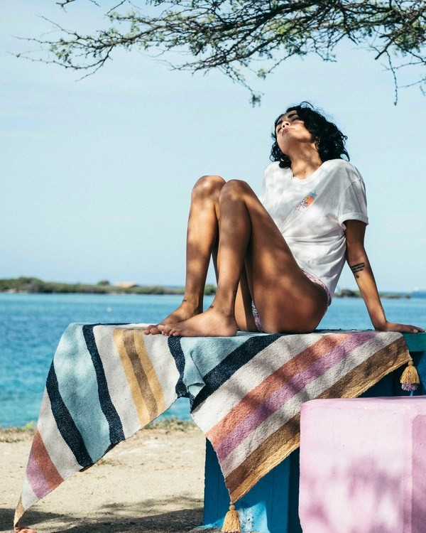 0 Vacay Mode Beach Blanket Green JAMC3BVA Billabong