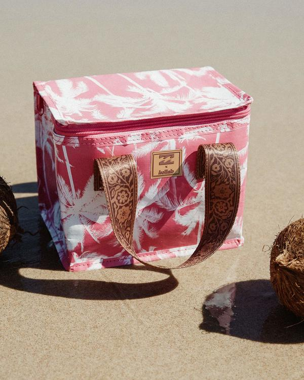 0 Kollab Pretty Palms Lunch Box Pink JAMCWBPP Billabong