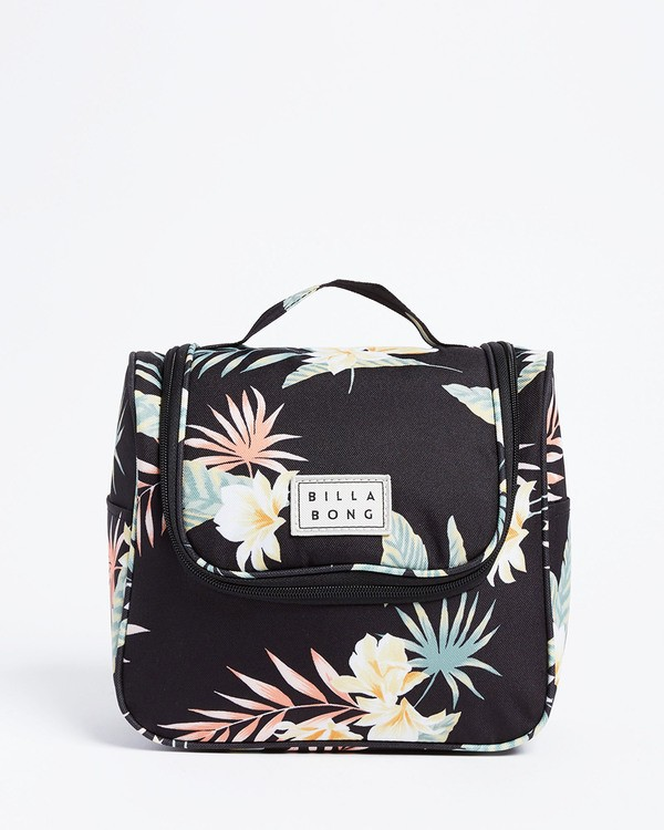 0 Travel Beauty Toiletry Bag Black JATV3BTB Billabong