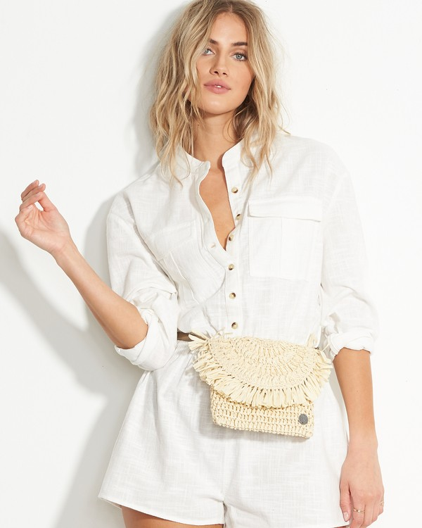 0 Off Duty Straw Hip Bag  JATVVBOF Billabong