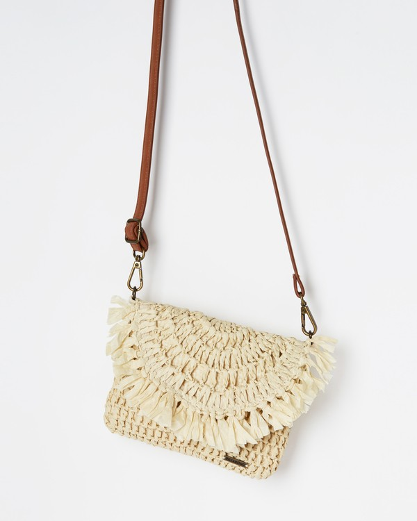 0 Off Duty Straw Hip Bag Beige JATVVBOF Billabong