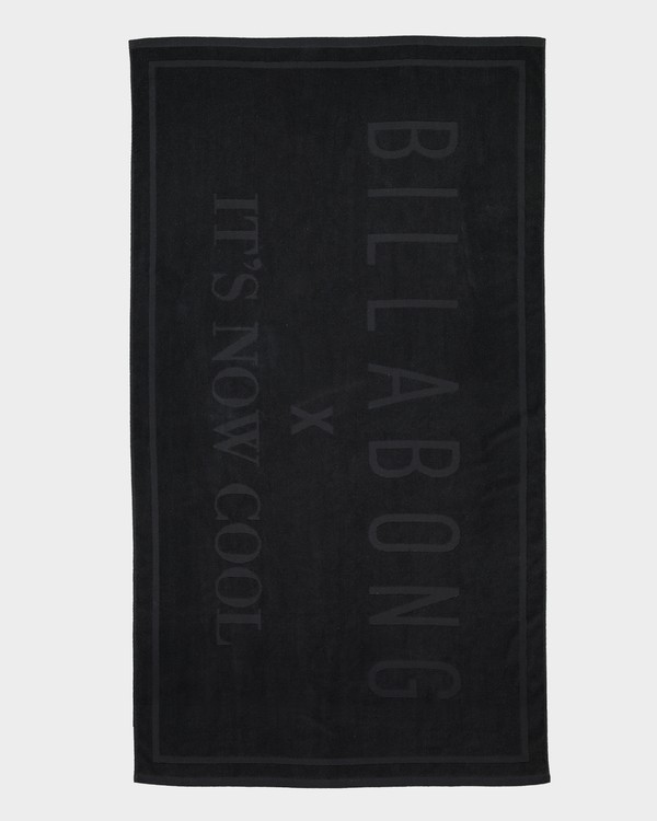 0 It's Now Cool Towel Black JATWSBIT Billabong