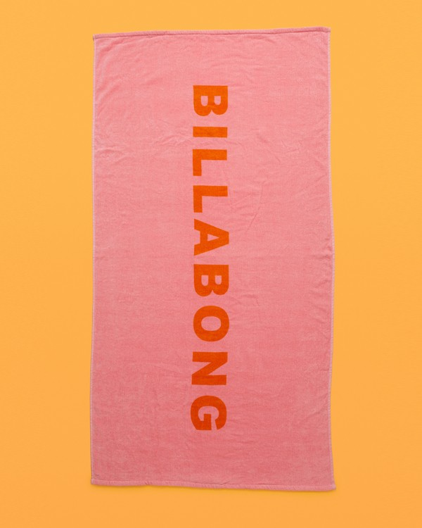 0 Hypnotic Towel Red JATWWBHY Billabong